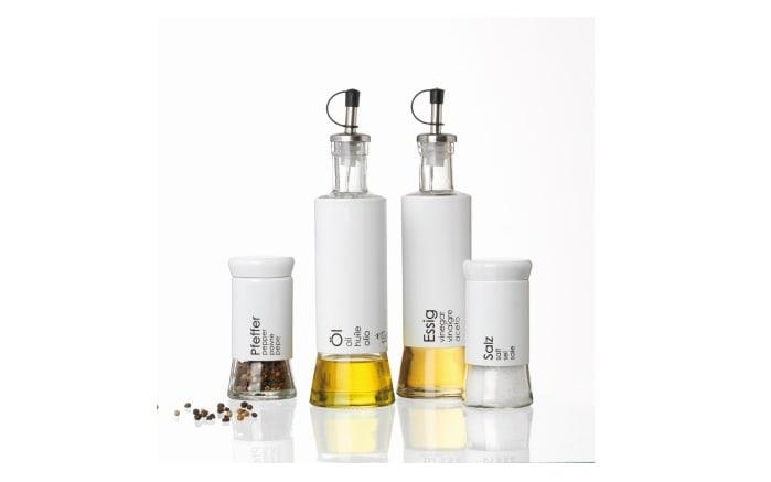 Essigflasche Cantina in weiß, 320 ml