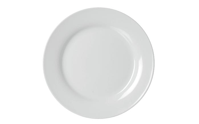 Speiseteller Bianco in weiß, 24 cm