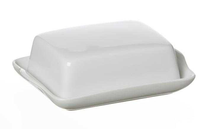 Butterdose Bianco in weiß