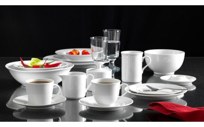 Espressountertasse Bianco in weiß, 11,5 cm