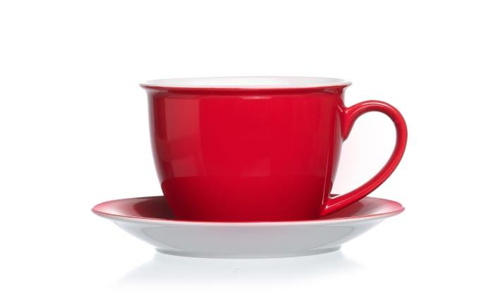Jumbo Tasse Doppio in rot, 360 ml