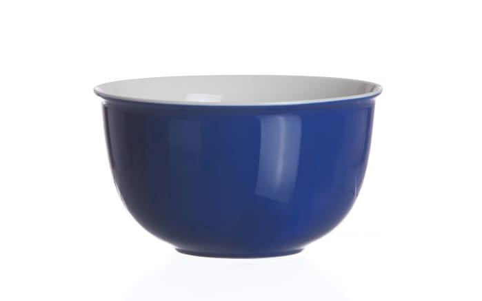 Müslischale Doppio in indigo, 14 cm