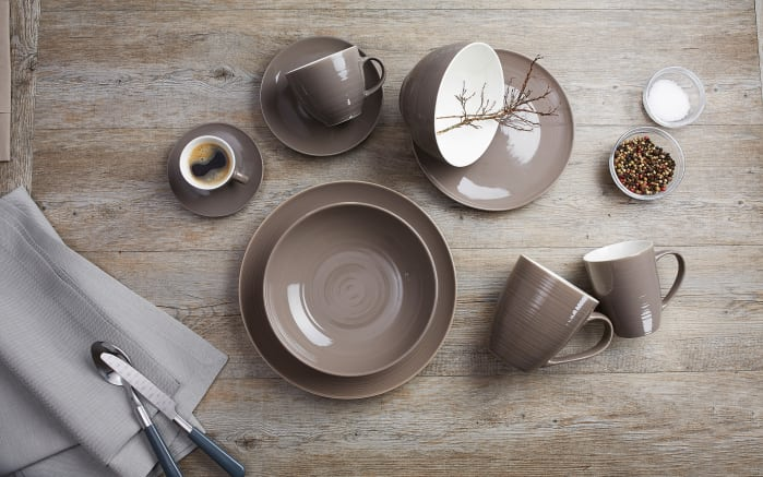 Kaffeebecher Suomi in taupe, 310 ml