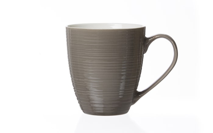 Jumbo Becher Suomi in taupe, 600 ml