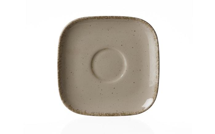 Kaffee Untertasse Casa in grau, 13 cm