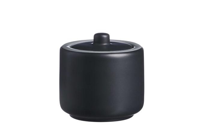 Zuckerdose Jasper in schwarz-01