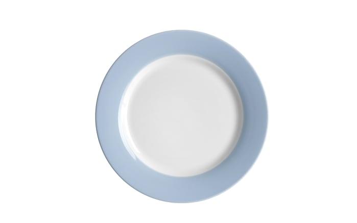 Dessertteller Doppio in nordic blau, 20,5 cm