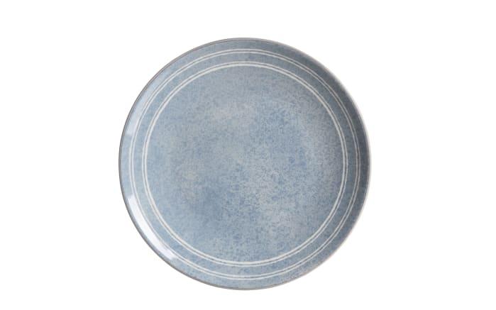 Teller Weekend in blau, 15 cm