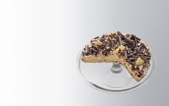 Tortenplatte Ciao mit Fuß, 32 cm