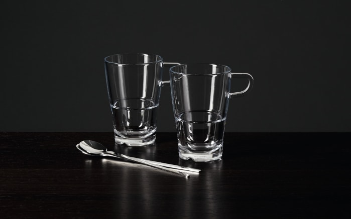 Latte-Macchiato-Set Senso, 4-teilig