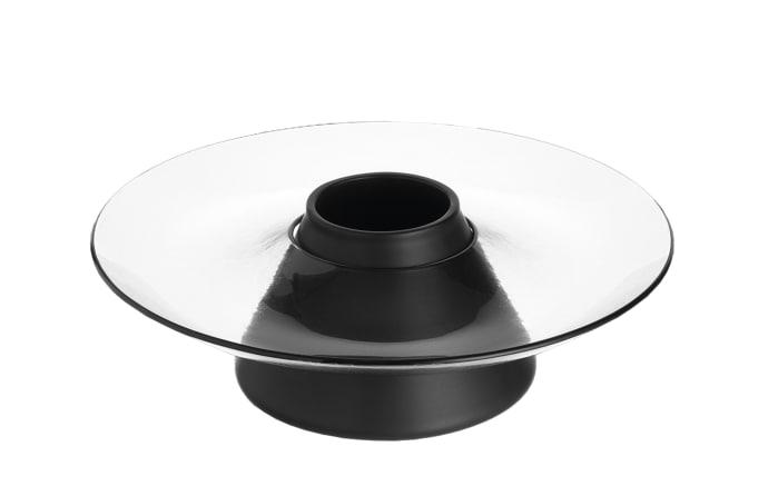 Nussschale Castagna in schwarz