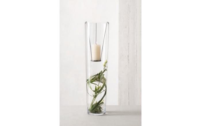 Vase mit Kerzeneinsatz, 70 cm