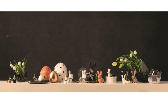 Keramikei Punto gepunktet, 25 cm