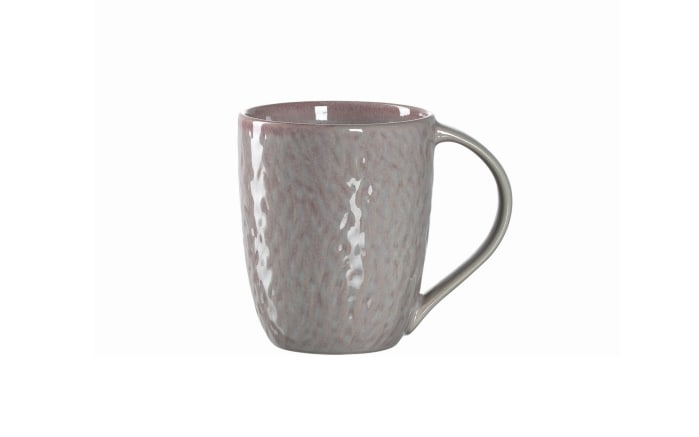 Keramiktasse Matera in rosa, 430 ml