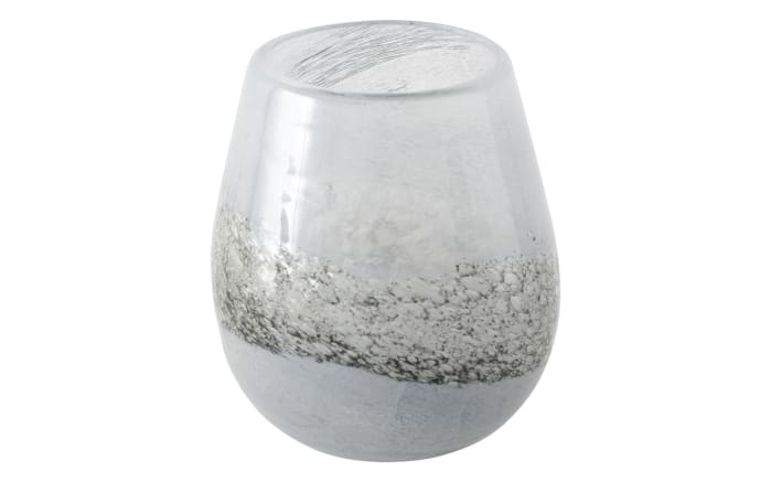 Windlicht Griselda in grau oder schwarz, 16 cm