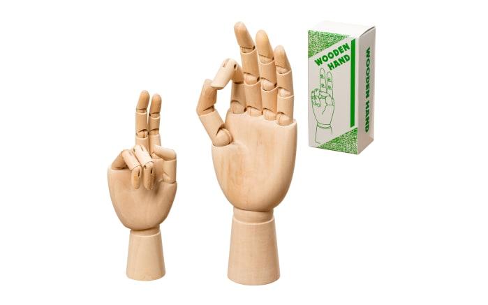 Figur Hand aus Holz, 25 cm-02
