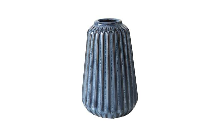 Vase Aquarel in blau, 15 cm