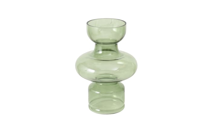 Vase Lysander in grün, 28 cm