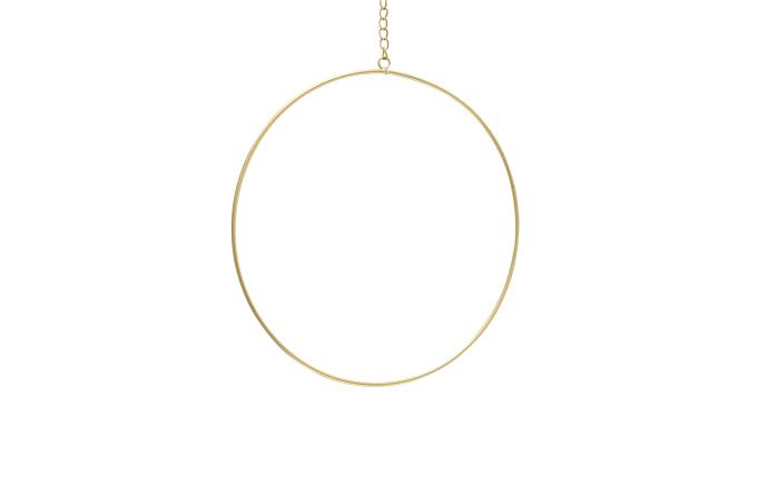 Dekohänger Rumba in gold, 20 cm