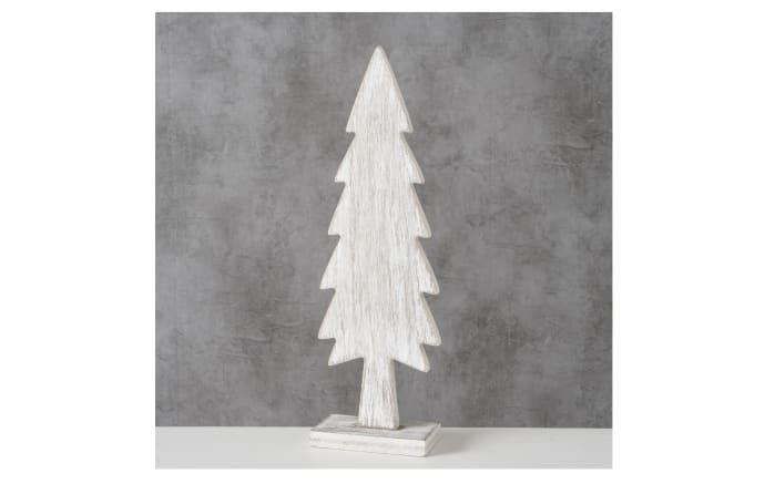 Dekoaufsteller Baum in grau, 30 cm