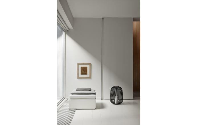 Laterne Lito in schwarz, 20,8 x 17,5 x 20,8 cm-02