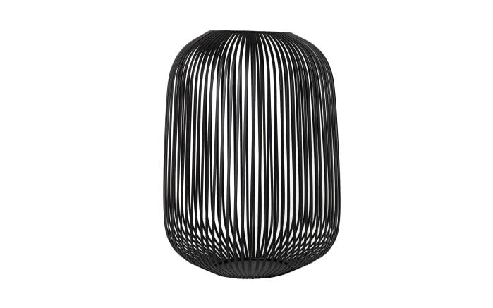Laterne Lito in schwarz, 33 x 45 x 33 cm-01