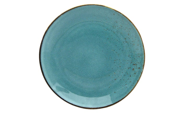 Speiseteller Nature Collection in wasserblau, 27 cm