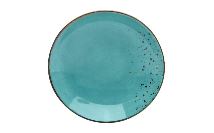 Suppenteller nature Collection in wasserblau, 22 cm