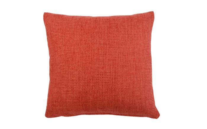 Kissenhülle Dallas in rot, 50 x 50 cm
