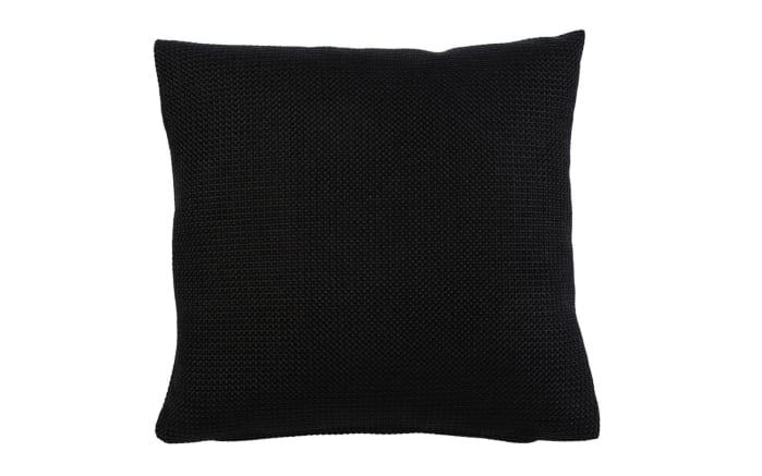 Kissenhülle Dallas in schwarz, 50 x 50 cm