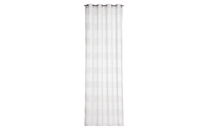 Ösenschal Willow Legere in weiß, 140 x 245 cm