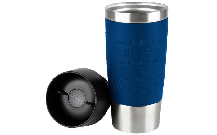 Iso-Trinkbecher Travel Mug in blau, 0,36 l