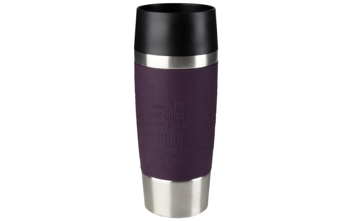 Iso-Trinkbecher Travel Mug in brombeer, 0,36 l