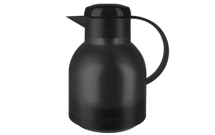 Isolierkanne Samba in schwarz transluzent, 1,0 l