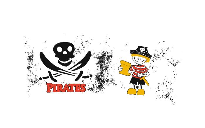 Kindertrinkglas Kids mit Motiv: Pirate, 0,2 l