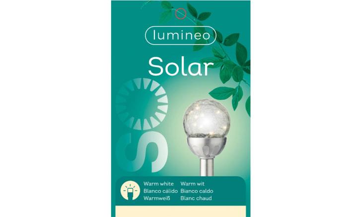 Micro LED-Solarkugel Crackle, 8 x 30,5 cm