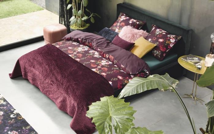 Bettwäsche Miros in rot, 135 x 200 cm