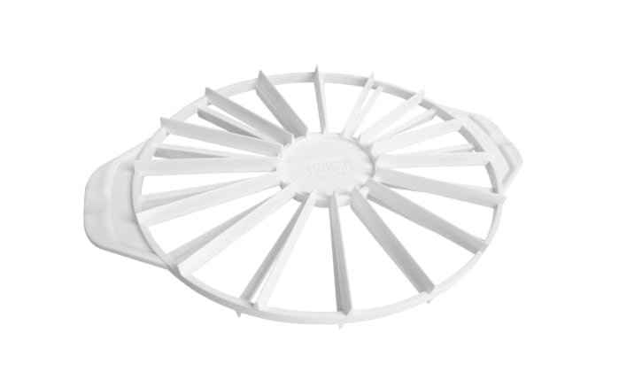 Kaiser Torten-Einteiler Patisserie aus Kunststoff in weiß