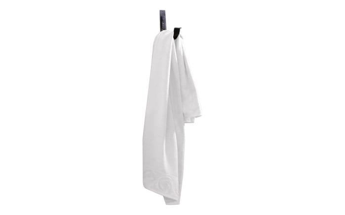 Handtuch Casa Nova Rose in weiß, 50 x 100 cm