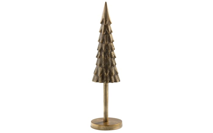 Tannenbaum in gold, 39 cm