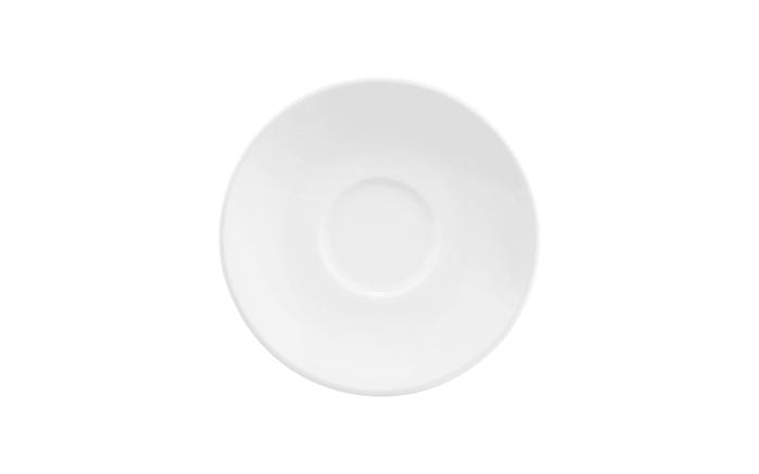 Kombiuntertasse Life in weiß, 16 cm