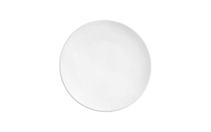 Speiseteller Life in weiß, 28 cm