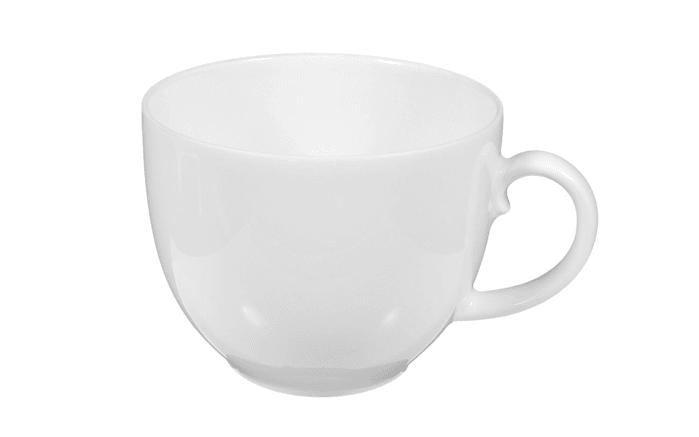 Kaffeetasse Rondo Liane in weiß, 0,21 l