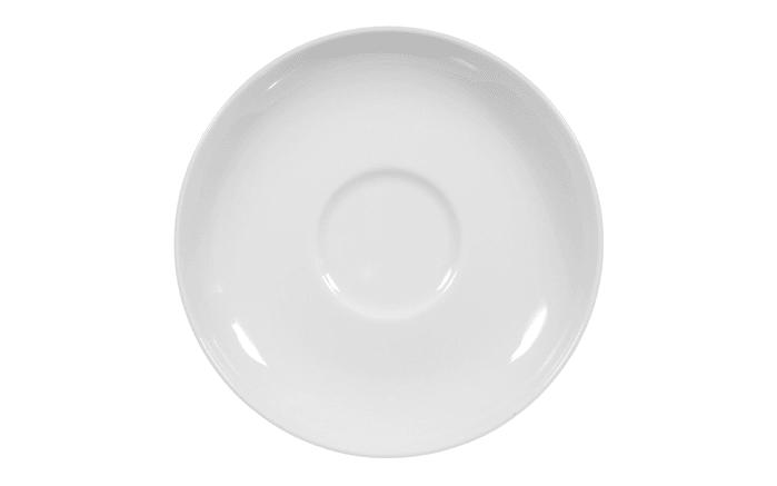 Unterteller Rondo Liane in weiß, 14,5 cm