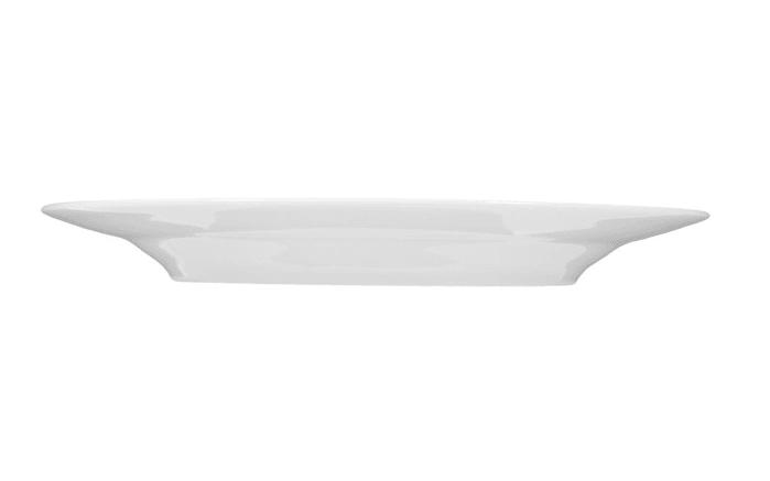 Frühstücksteller Rondo Liane in weiß, 20 cm