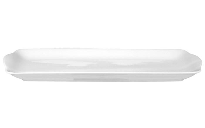 Kuchenplatte Rondo Liane in weiß, 35 cm