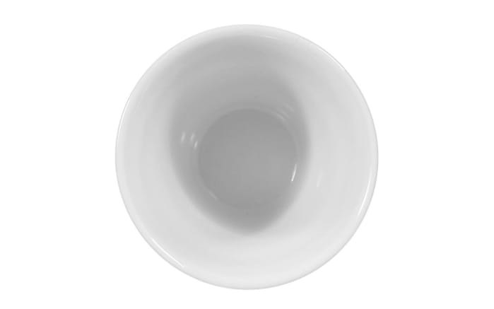 Eierbecher Rondo Liane in weiß, 3 cm