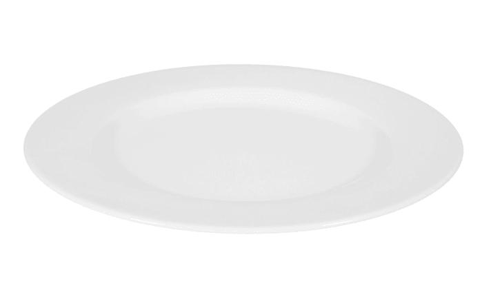Speiseteller Rondo Liane in weiß, 27 cm