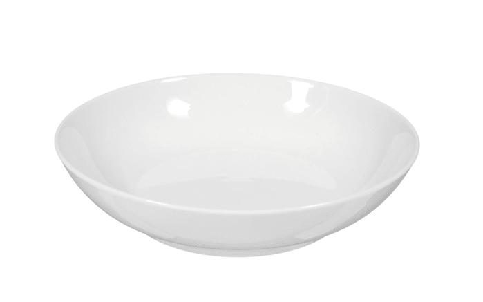 Salatschale Rondo Liane in weiß, 16 cm