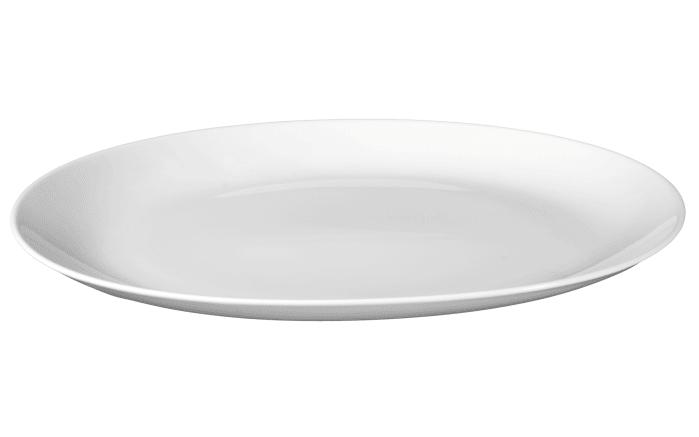 Servierplatte Rondo Liane in weiß, 35 cm